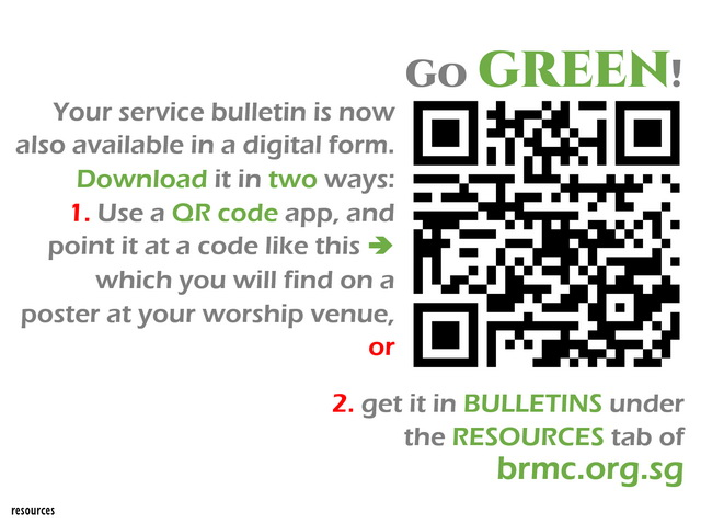 QR poster for all bulletins-640